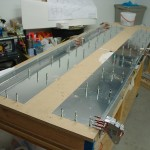 Skins drilled to table
