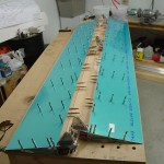Drilling bottom skins to flaps