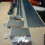 Flap components for deburring