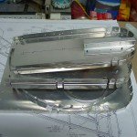 Stack of aft bulkheads