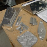 Pile of deburred parts