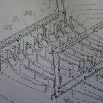 Seat rib installation drawing