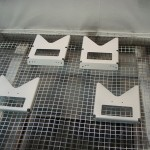 Priming crotch strap brackets