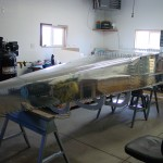 Fuselage ready to rivet