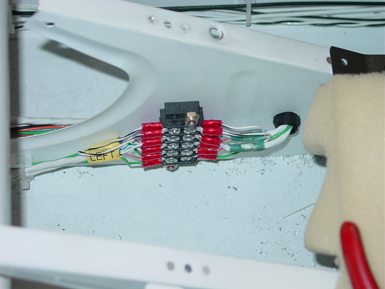 Still more airframe wiring » Joshua\'s RV-9A Project